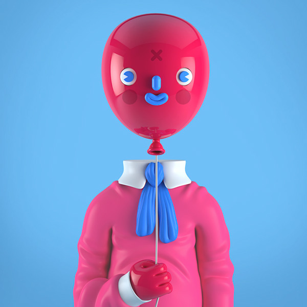 3d Character Design Behance : Eye catching d characters are both weird and wonderful