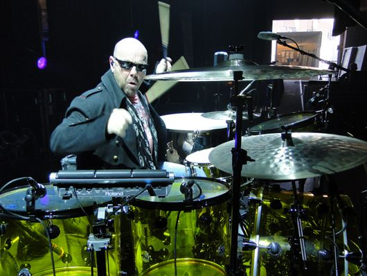 jason bonham 39 s led zeppelin experience drum setup in pictures musicradar. Black Bedroom Furniture Sets. Home Design Ideas