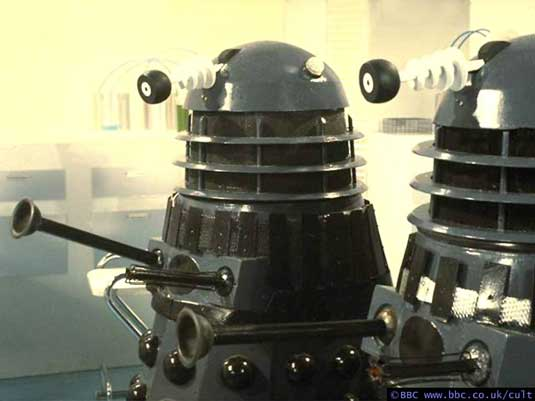 Dalek designs: Genesis of the Daleks