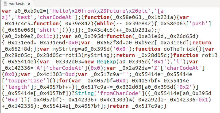 How to hide your JavaScript code: Results