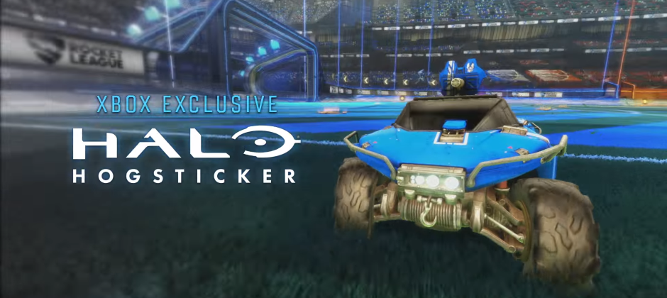 Drive Halo S Warthog In Rocket League On Xbox One