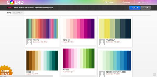 colour resource: colrd