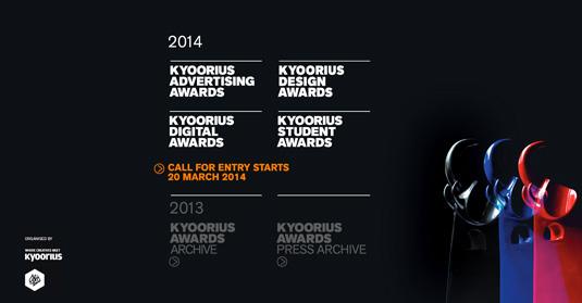 Kyoorius Awards 2014