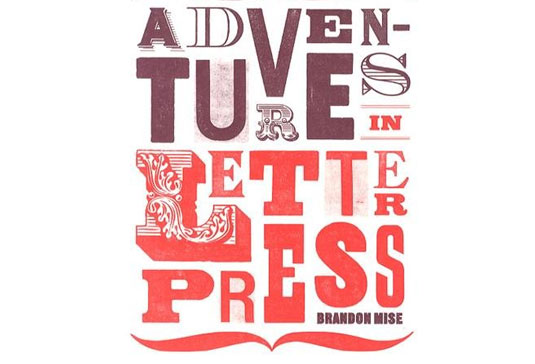 Adventures in Letterpress cover