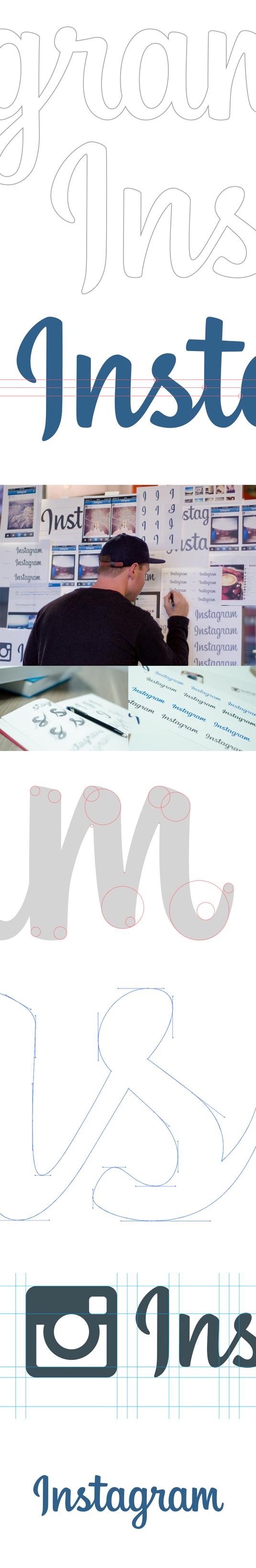 New Instagram logo process