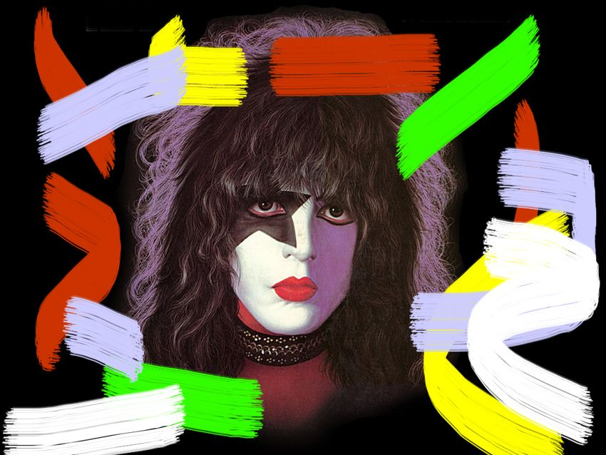 kiss 39 s paul stanley suffers art attack musicradar. Black Bedroom Furniture Sets. Home Design Ideas