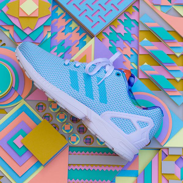 Adidas paper art