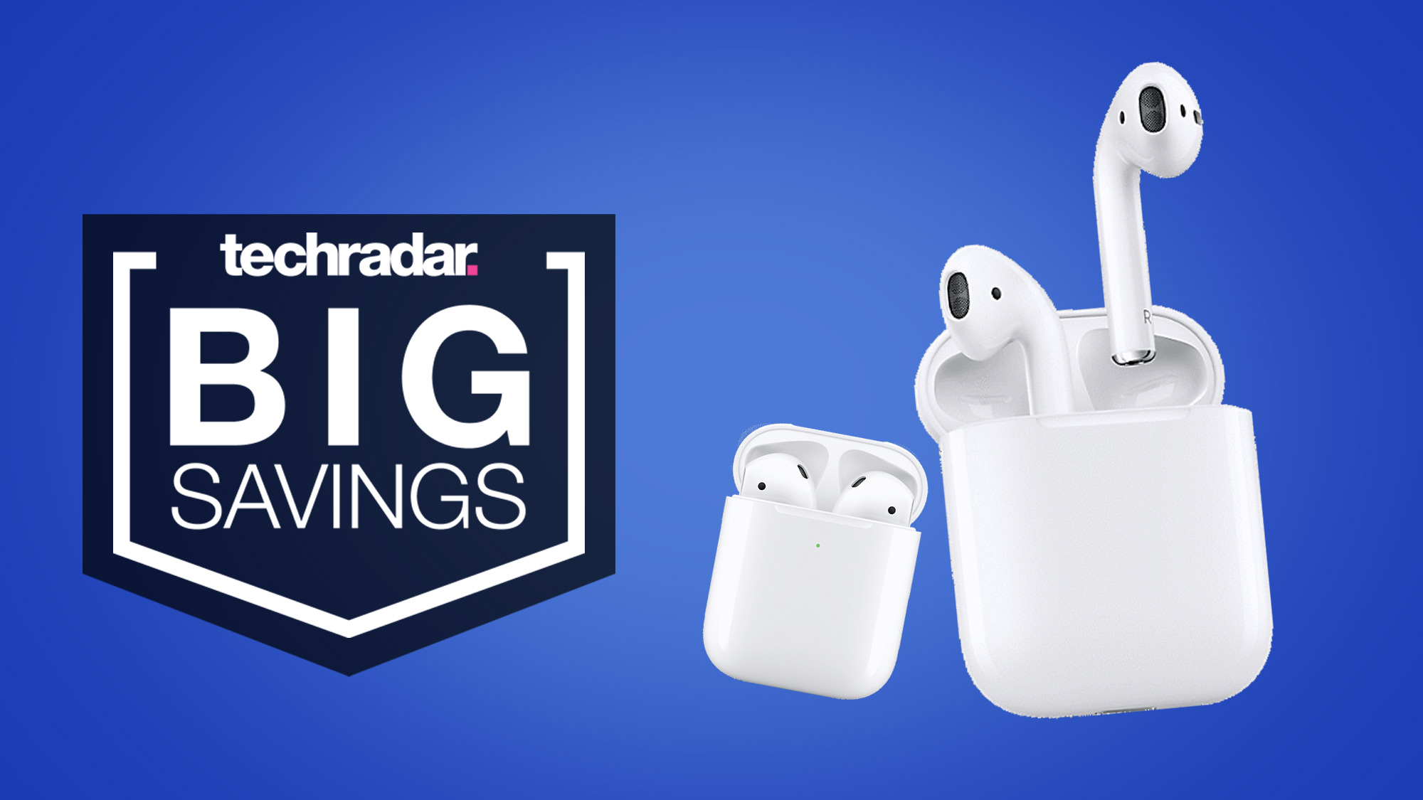 Arvo bargain: snag AU$40 off a pair of Apple AirPods with wireless charging