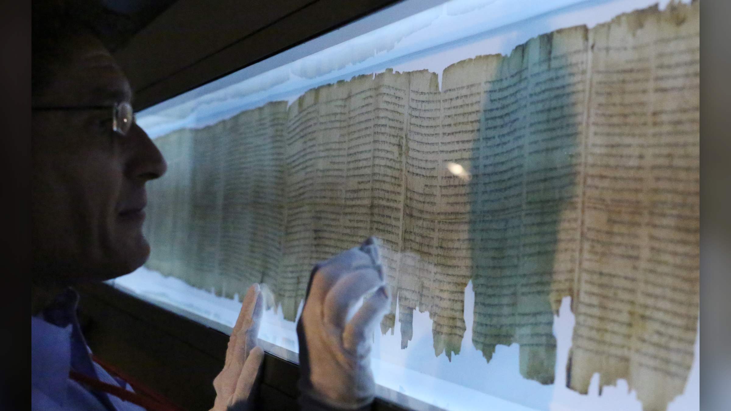 Mysterious second writer of Dead Sea Scroll uncovered by AI