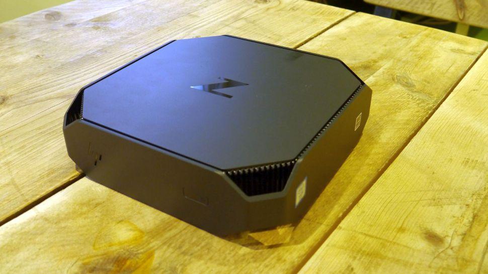 hp  mini  workstation hands  review techradar