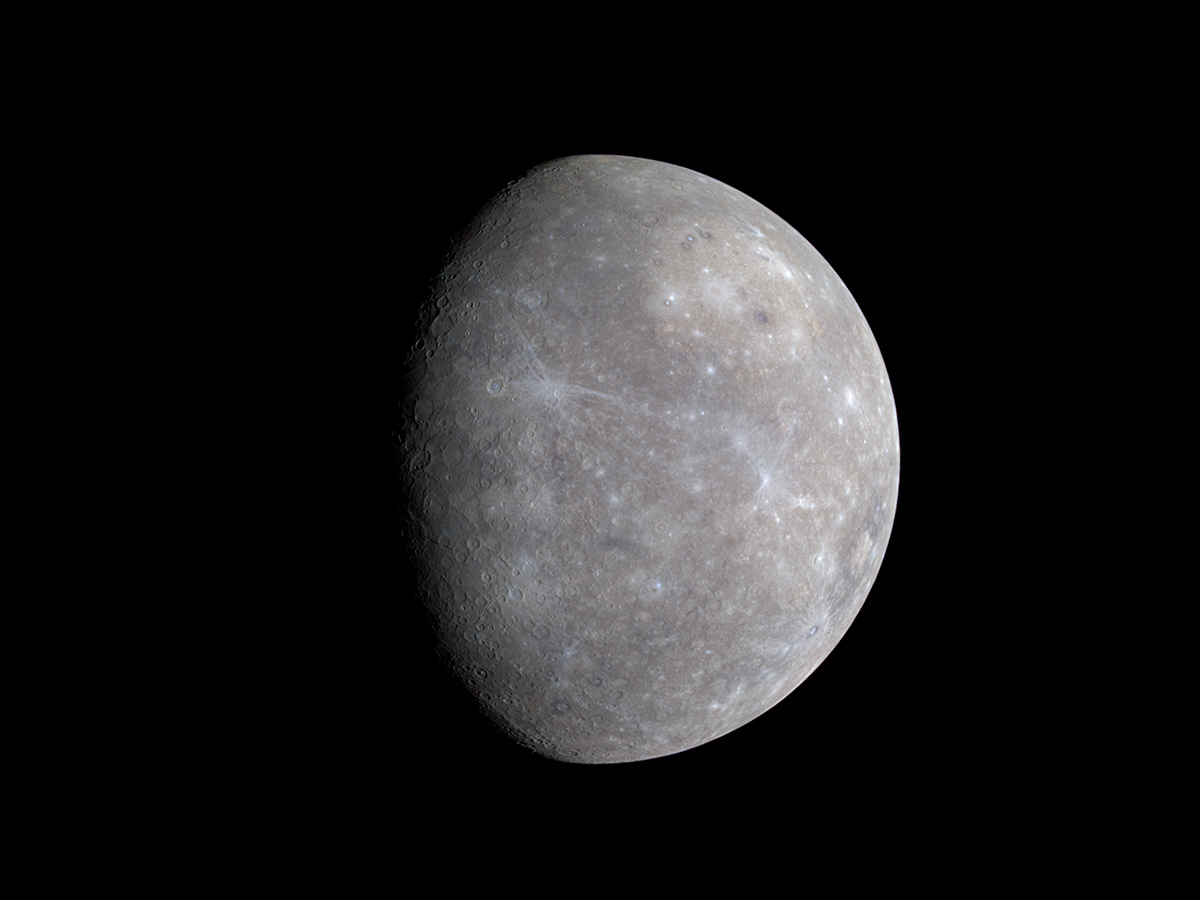 Tiny Mercury May Have a Solid Metallic Core That Rivals Earth's