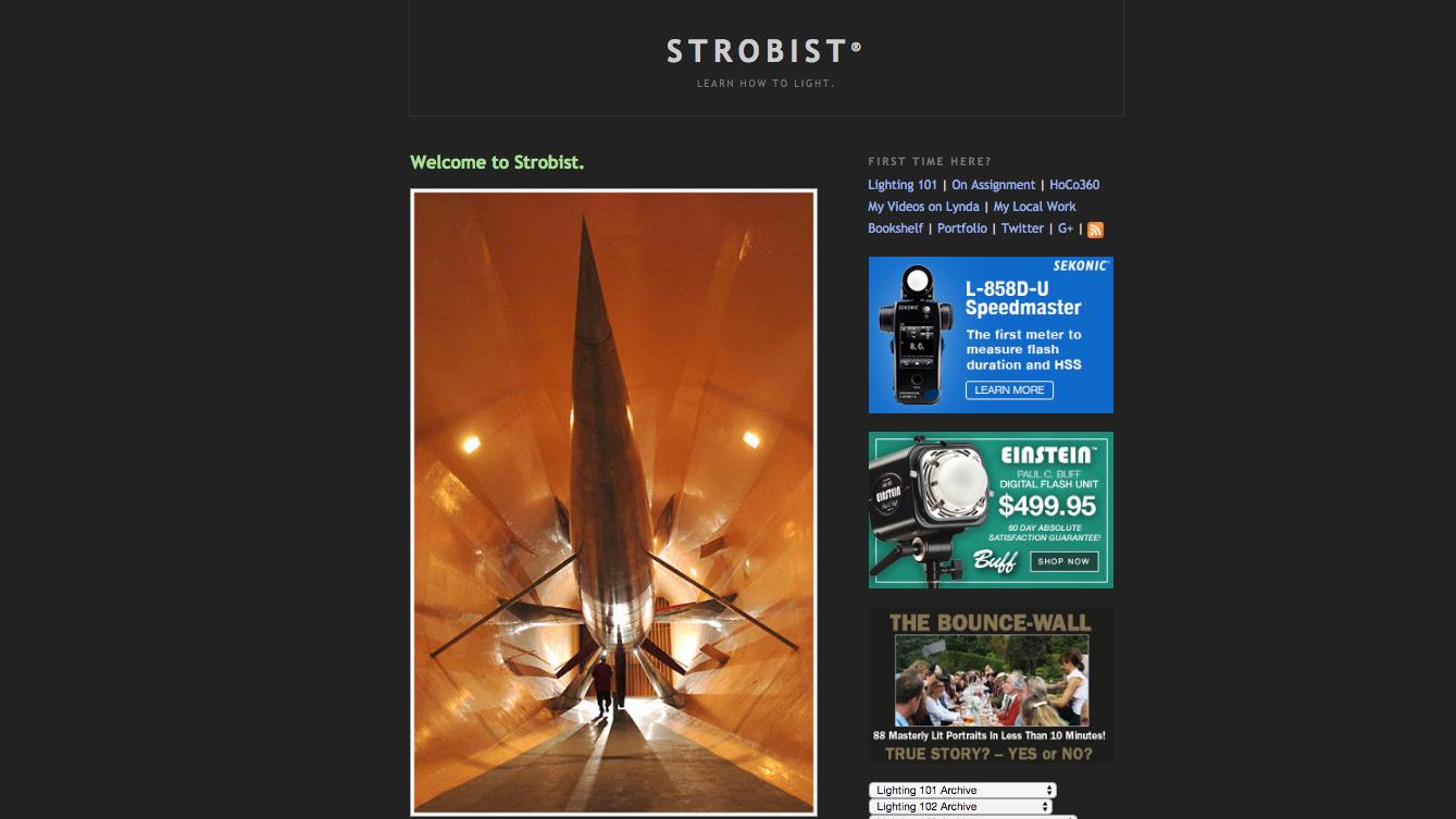 Photography websites: Strobist
