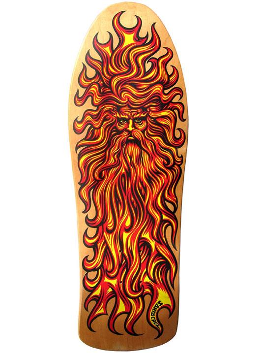 Skateboard designs: Extended Sun