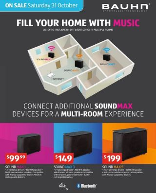 aldi is selling a cheap sonos alternative this weekend. Black Bedroom Furniture Sets. Home Design Ideas