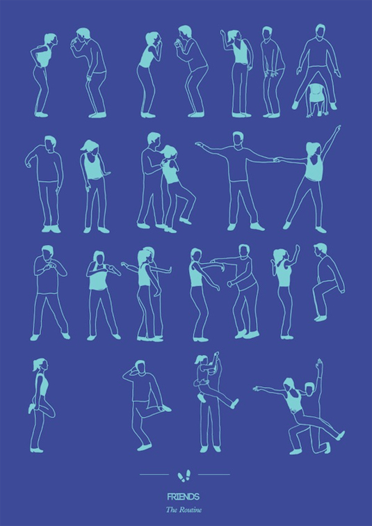 dance routine poster