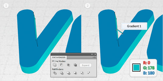 how to make text into a shape illustrator