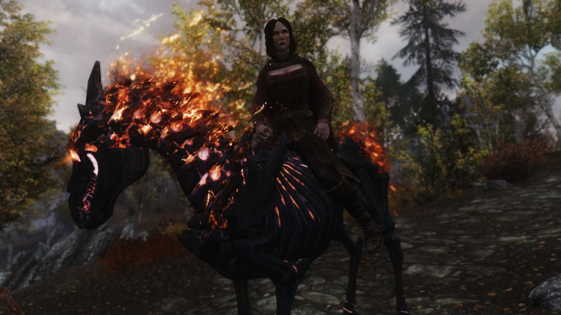 Skyrim Mods Horse For Followers - Pictures of Horses