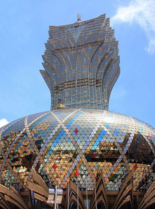 Design landmarks: The Grand Lisboa Hotel and Casino