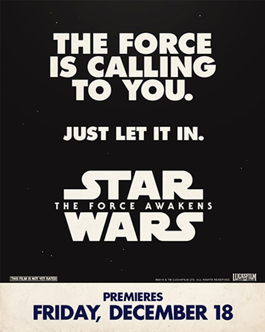 Retro Star Wars poster
