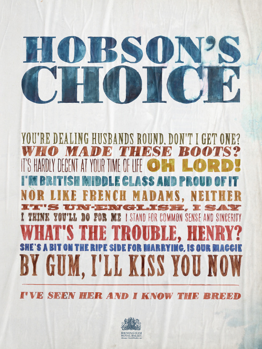 Design Spring: Hobson's Choice