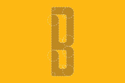 Free font: Borg