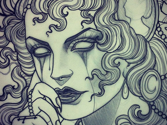 Tattoo art designs: Emily Rose Murray