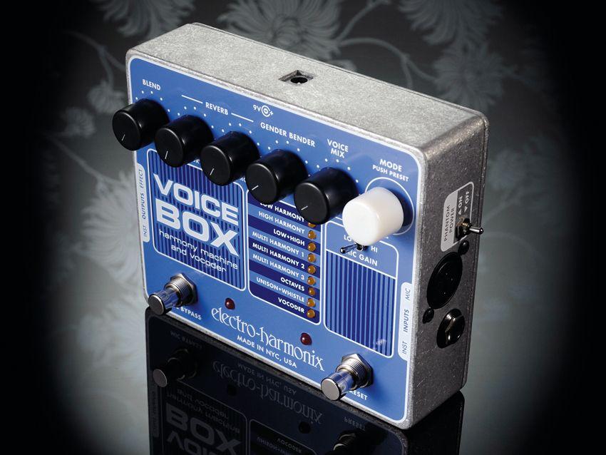 electro harmonix voice box review musicradar. Black Bedroom Furniture Sets. Home Design Ideas