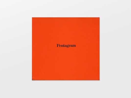 Designer monographs: Pentagram: The Work of Five Designers
