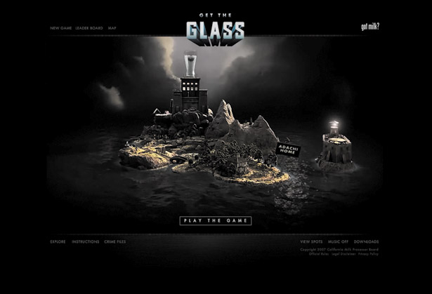 Best flash sites ever: Get The Glass