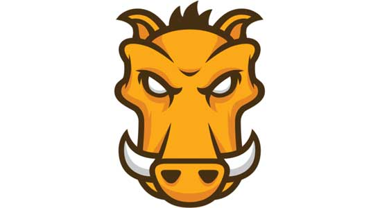 Grunt's bull mascot
