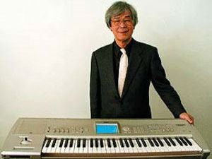 Tsutomu Katoh with one of Korg s many creations