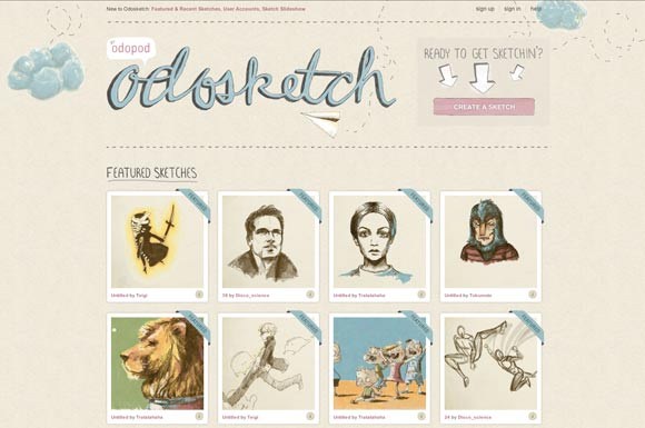 odosketch home page