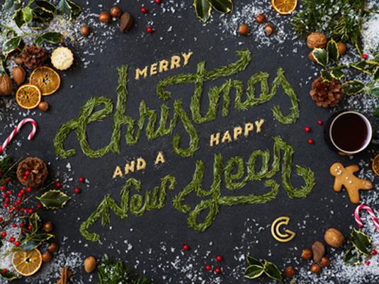 Chameleon Christmas font