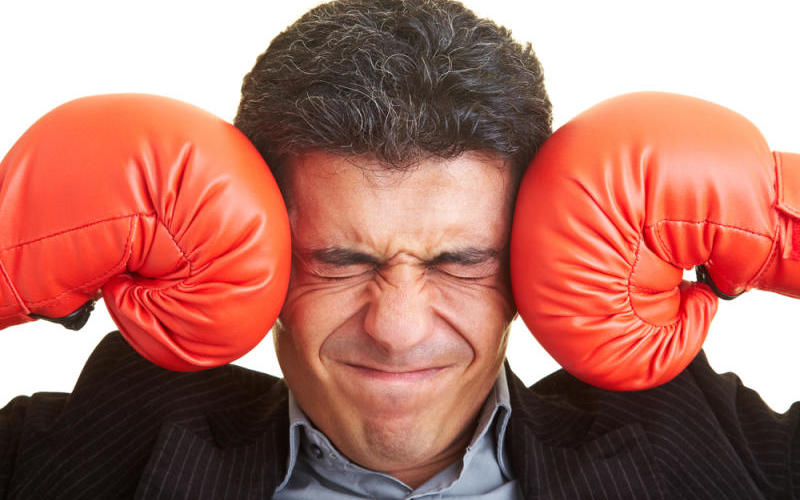 Headache, information overload