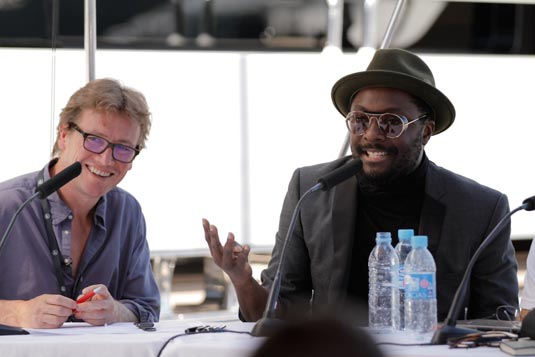 Johnny Hornby with will.i.am