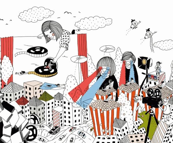 Gizem Vural - D&R Illustrations
