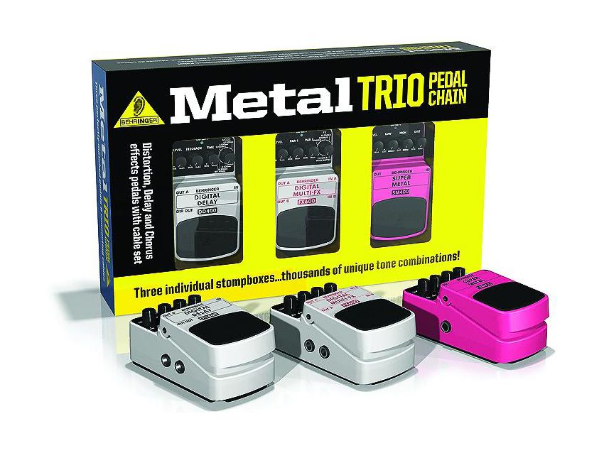 have a threesome with behringer 39 s stompbox trio sets musicradar. Black Bedroom Furniture Sets. Home Design Ideas