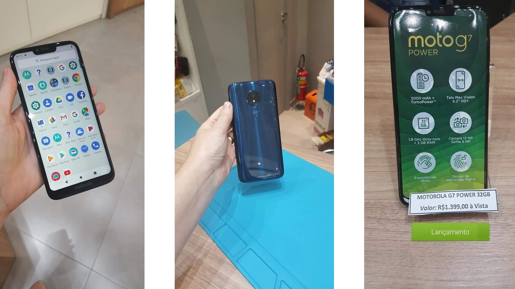 Moto G7 and G7 Power images provide a good look at the upcoming phones