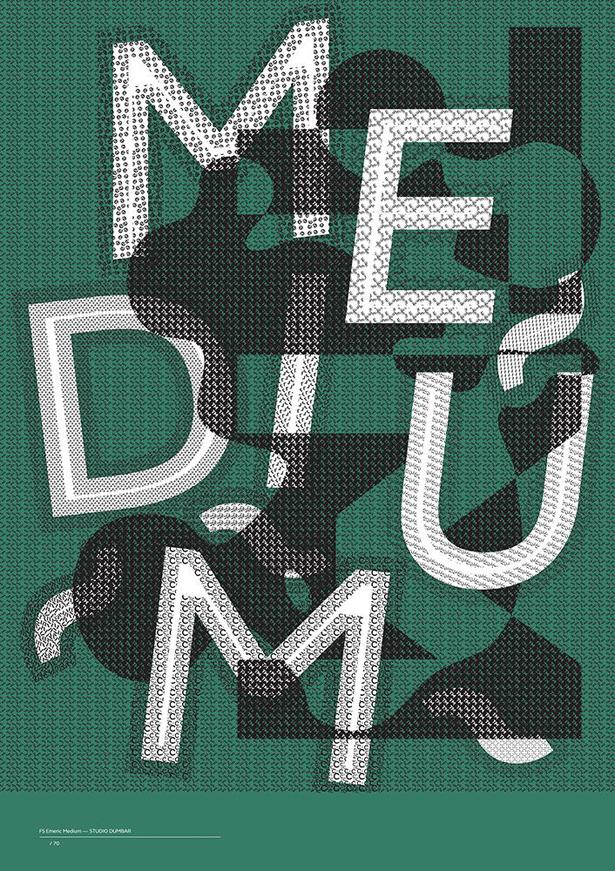Studio Dumbar FS Emeric poster