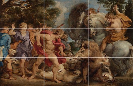 Rule of thirds - Rubens