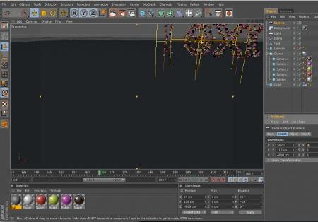 animation camera scene