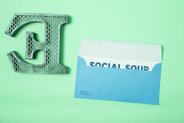 Social soup branding