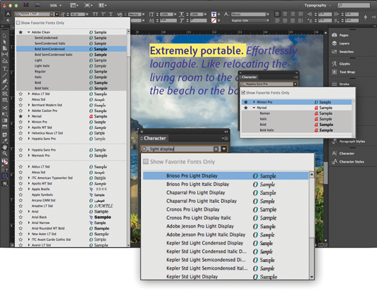 Incredible things about InDesign CC: 1