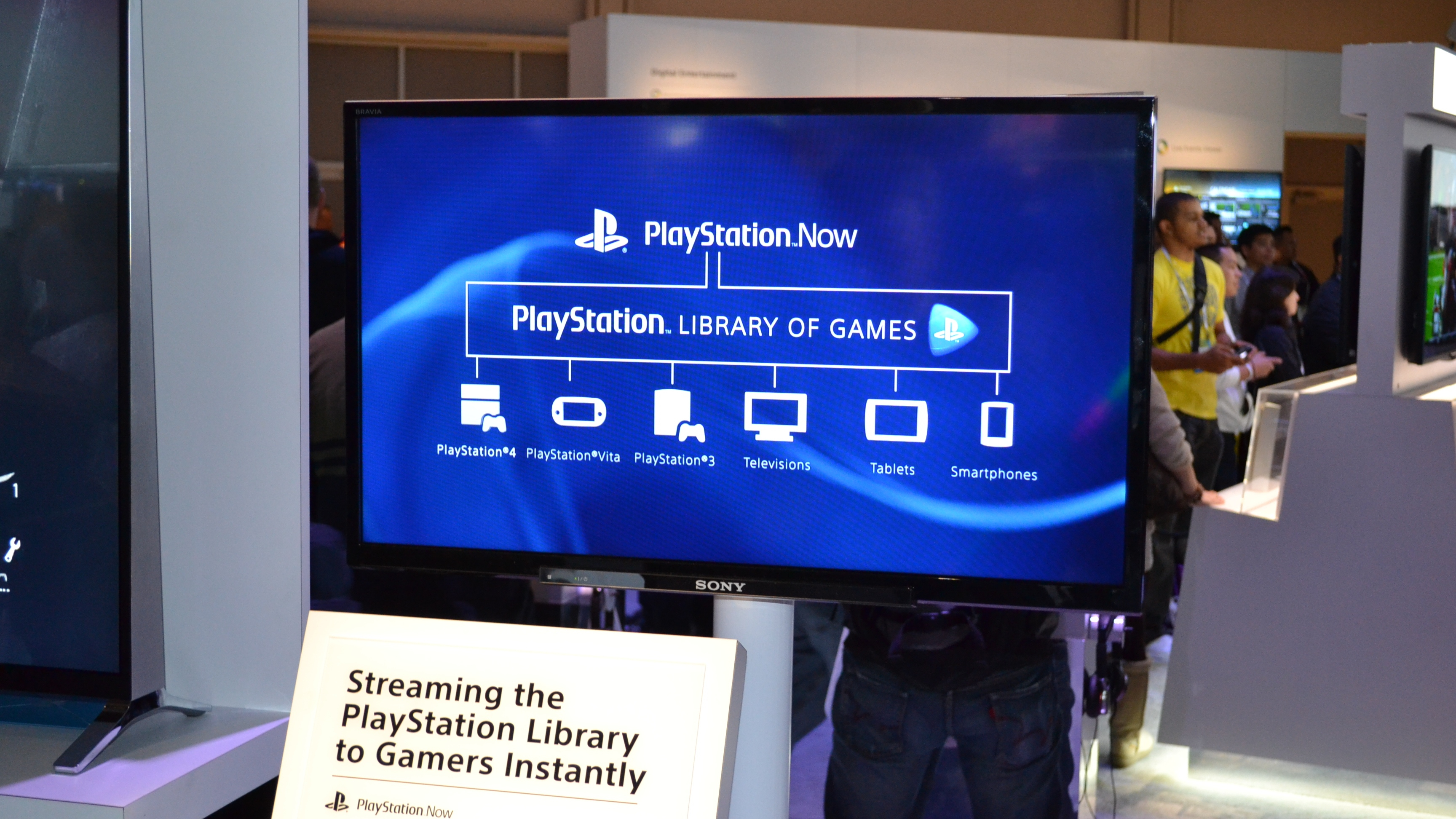 sony tv with ps4. these new sony bravia 4k tvs can stream ps3 games via playstation now | techradar tv with ps4