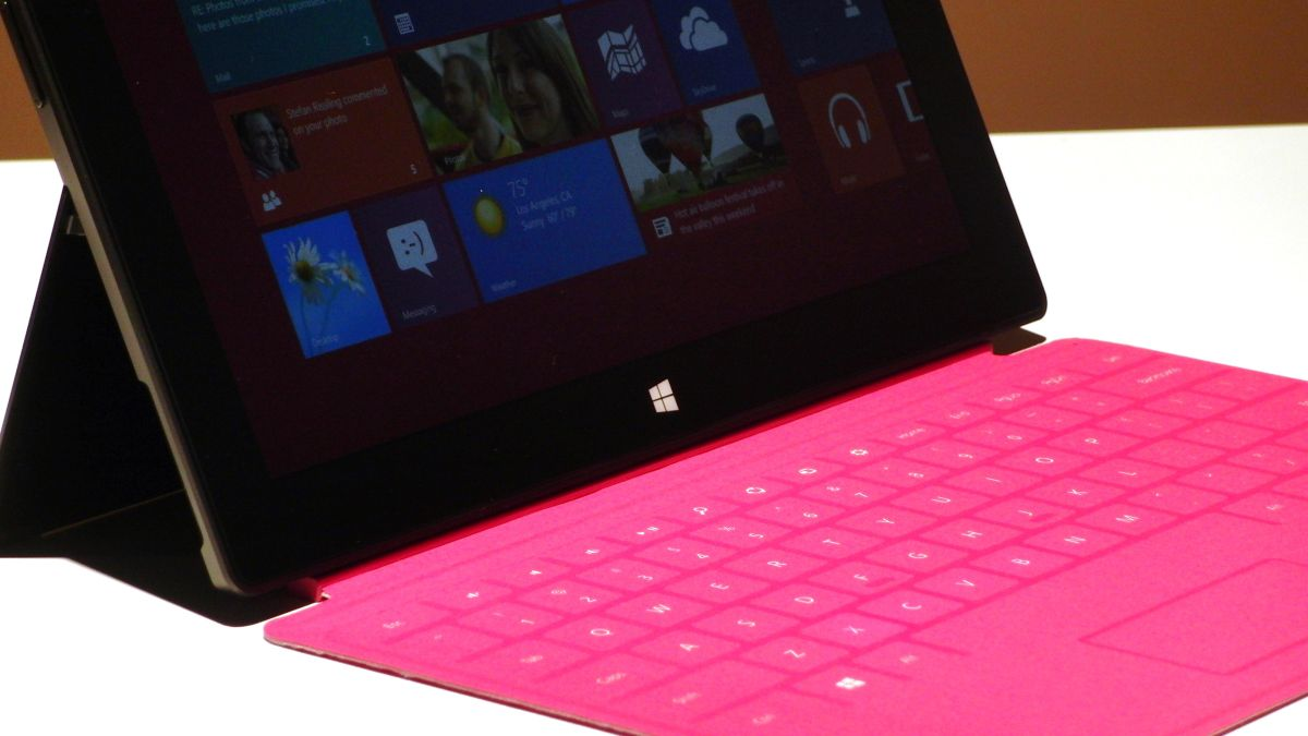 What's unique about Microsoft's Surface tablet Touch Cover ...