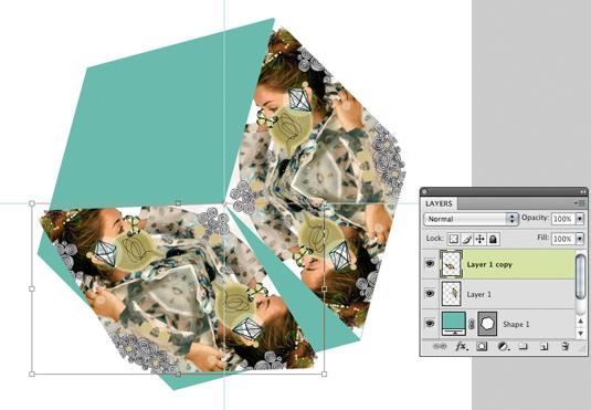 Kaleidoscopic collage 14