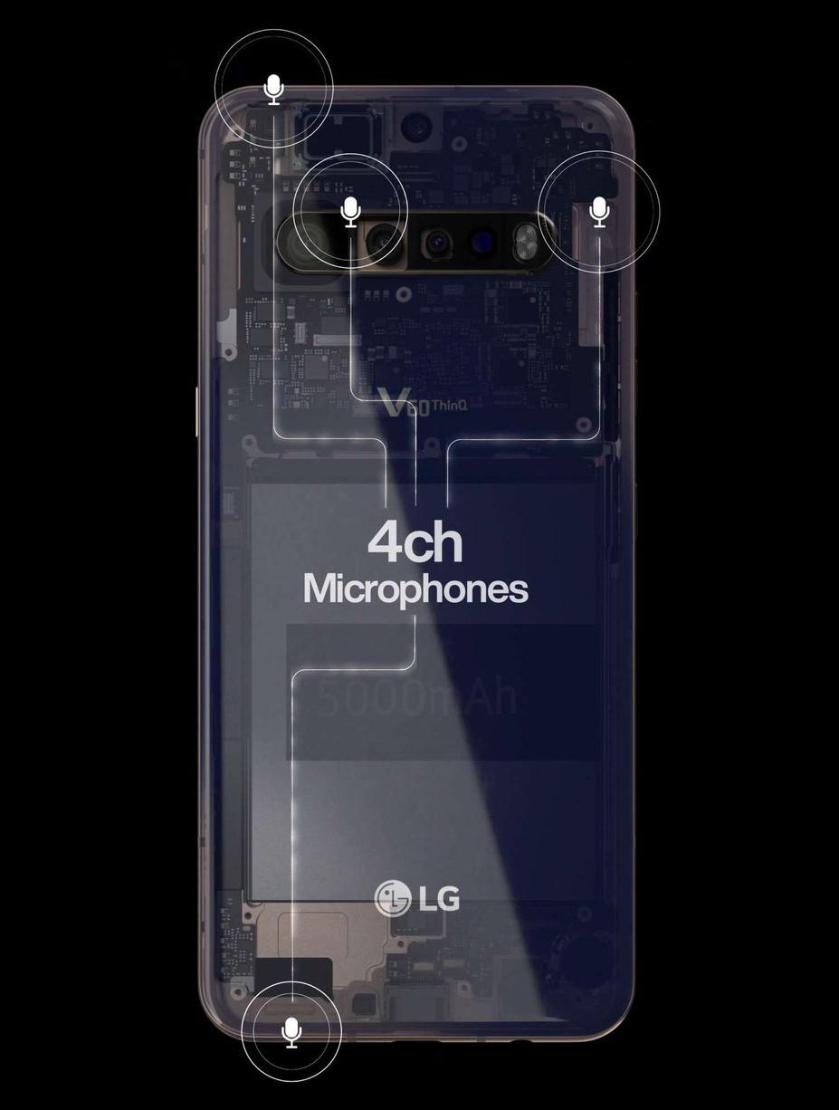 LG V60 ThinQ leak