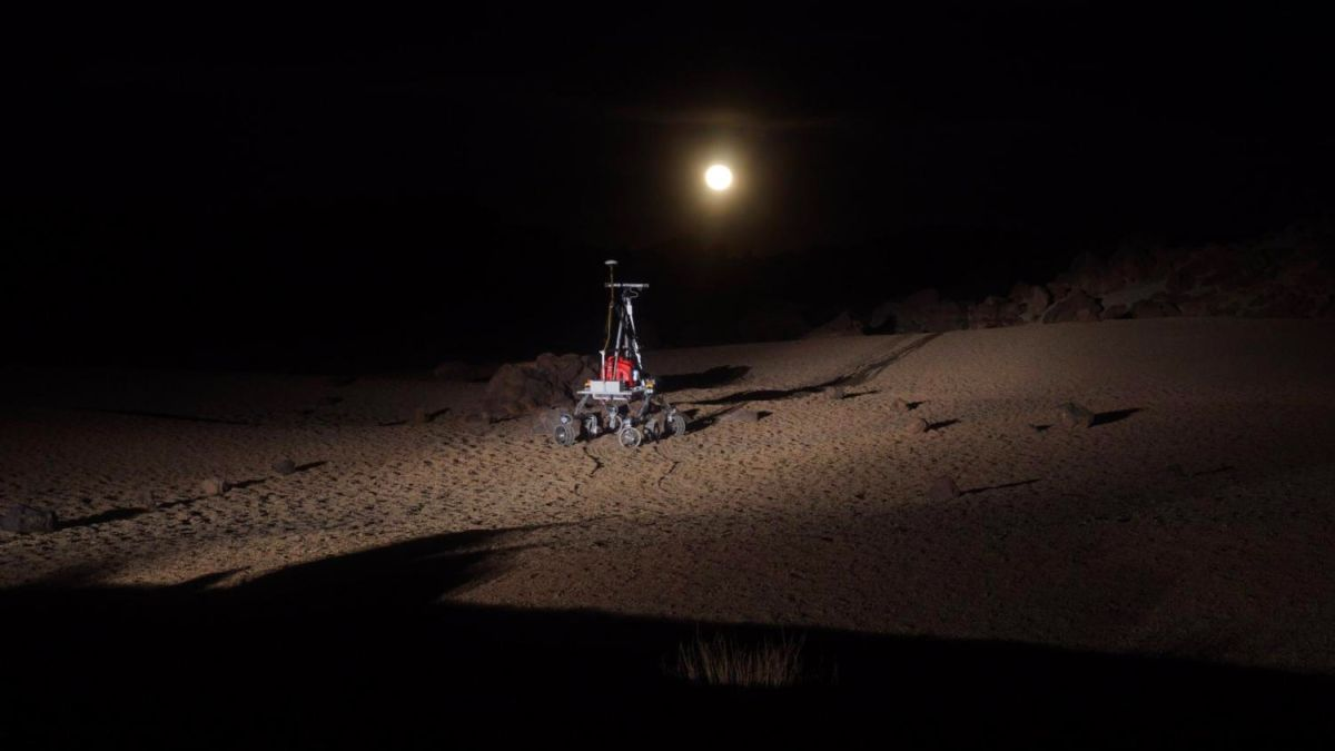 Want to Visit the Moon Here on Earth? Try Tenerife like the ESA's New Rover Robots