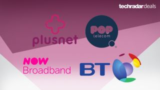 Plusnet NOW POP Telecom and BT all have great new broadband deals this week