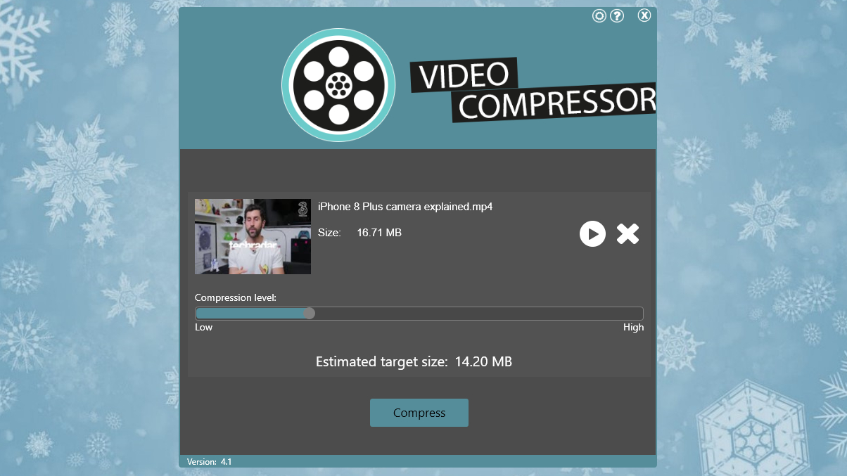 VideoCompressor 2017